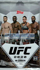 2020 Topps UFC Hobby Trading Cards - Pack of 10