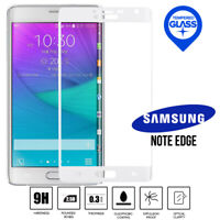 100% Genuine White Tempered Curved LCD Screen Protector Samsung Note Edge N915
