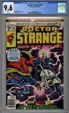 Doctor Strange #28 CGC 9.6 NM+ Wp Vs In-Betweener Marvel Comics 1978 Brunner Cvr