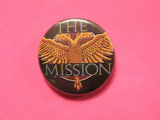 THE MISSION VINTAGE BUTTON PIN NOT PATCH SHIRT POSTER CD LP UK IMPORT
