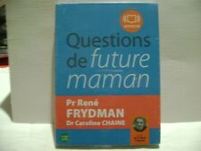 "CD LIVRE AUDIO NEUF ""QUESTIONS DE FUTURE MAMAN  MA REF CAISSE 11"