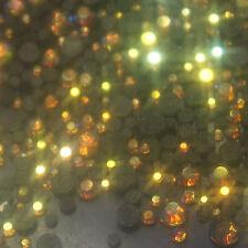 Assortiment strass AB TOPAZ en verre hotfix s06 + s10 + s16 + s20 n°(205) BLING