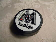 Jason Spezza Mississauga Ice Dogs OHL Autographed Hockey Puck