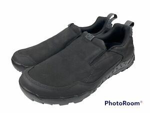 🔥 Merrell • Annex Trak Moc Hiking Slip on Shoe • J91807 • Black • Men's Sz 12