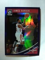 2018-19 Donruss Optic Prizm Blue James Harden #72.