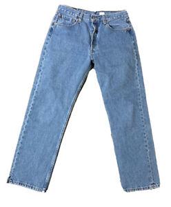 VTG 90's Levis 501 Button Fly Jeans Size 31 X 30