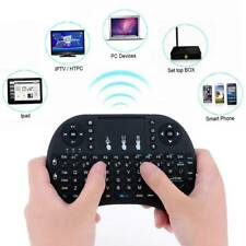 2.4GHz Funk Mini Tastatur Wireless Keyboard Air Mouse Touchpad für TV Android @2