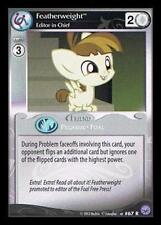 1x Featherweight, Editor-in-Chief - F25 - My Little Pony Premiere Edition MLP CC