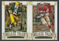 2019 Panini Legacy TIMELESS TALENTS Inserts Complete Your Set You Pick!