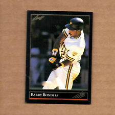 1992 Leaf Black Gold #275 Barry Bonds Pittsburgh Pirates