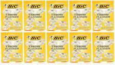 BIC Chrome Platinum Double Edge Safety Razor Blades, 1000 Blades