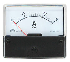 Messinstrument 0 - 30 A AC Einbau-messinstrument Analog Amperemeter 12477