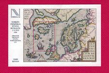 Zayix - 1984 Iceland #590 Mnh souvenir sheet - Map / Mythology / Ships
