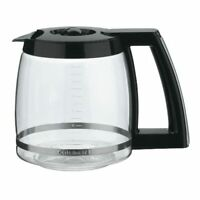 Cuisinart DCC-2200RC 14-Cup Replacement Glass Carafe, Black, New