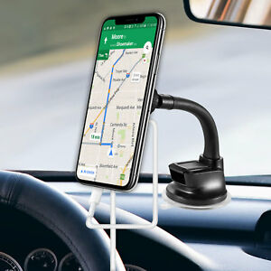 Extra Strength Magnetic Car Dash/ Windshield Phone Mount with Flexible Gooseneck