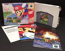 Super Mario 64 (Nintendo 64 N64, 1996) Near MINT In Box CIB Complete