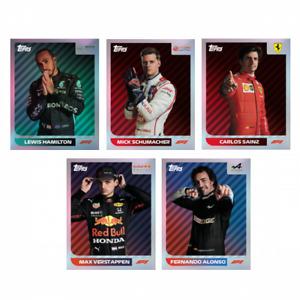 Topps F1 FORMULA 1 Season 2021 Album Stickers Limited Edition Sticker's