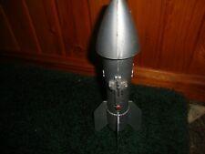 Vintage 1950 Astro Mfg. Detroit- Rocket Ship Mechanical Bank-works