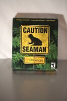 Seaman (Sega Dreamcast, 2000) Brand New Sealed Big Box RARE VIDEO GAME