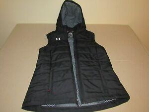 Under Armour Infrared Hooded Vest Black Mens Medium