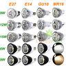 MR16/E27/GU10/E14 6W 9W 12W 15W LED Faretti Lampada Lampadina Spot Xmas Luce