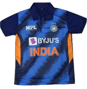 Pre Order India Team T20 Jersey Cricket 2021 Indian shirt ODI World Cup BYJU'S