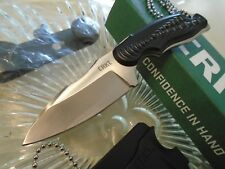 "CRKT Civet Drop Point Ikoma Neck/Boot Knife Full Tang 2804C 8Cr13MoV 5"" OA New"