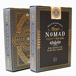 NoMad Playing Cards by Theory 11 - Quality USA Made Luxury Card Deck
