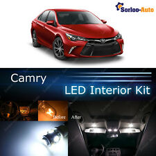 13x Xenon White LED Lights Interior Package Kit for 2012 - 2017 Toyota Camry