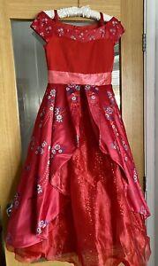 Disney Store Princess Elena Of Avalor Deluxe Fancy Dress Up Costume 9-10