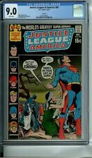 JUSTICE LEAGUE OF AMERICA 86 CGC 9.0 WP CIRCLE 8 NEAL ADAMS NEW NON-CIRCULATED