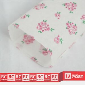 Wax Paper Rose Grease-proof Food Packaging Wrapping Pastry Party Wrap