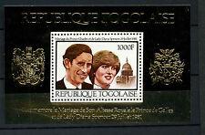 St. Thomas & Prince. 1981 Princesa Diana Boda Real 1000f Mnh m/s #d 7751