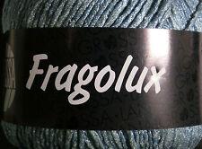(89,00 €/kg): 700 Gramm FRAGOLUX, Bändchengarn von Lana Grossa, türkis 30  #1591