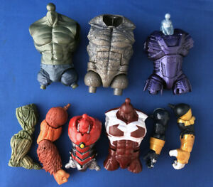 Marvel Legends BAF Build A Figure Action Rhino Man Thing Kree Robot Caliban MORE