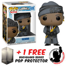 FUNKO POP COMING TO AMERICA SEMMI VINYL FIGURE + FREE POP PROTECTOR