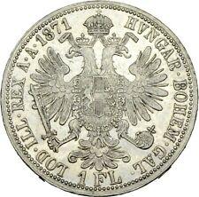 PRAGER: Österreich, Franz Josef I., 1 Gulden 1871 [1153]