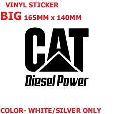 VINYL STICKER CAT DIESEL  HELMET BUMPER 4WD SUV TRUCK UTE VAN TOYOTA PRIMEMOVER