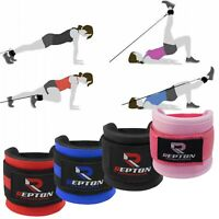 Details about  /SAWANS Gym Ankle Straps Cable Attachment Machine D Ring Workout Hip Circle Bands