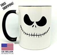 Jack Skellington , Birthday, Halloween Gift, Black Mug 11 oz, Coffee/Tea