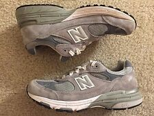 New Balance Heritage 993 Endurance Grey Suede Size 6.5 WR993GL Made in USA