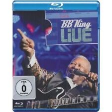 "B.B. KING ""LIVE"" BLU RAY 20 TRACKS NEW!"