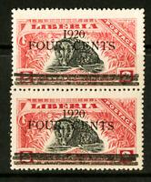 Liberia Stamps # 177 NH ERROR Pr I For I In 1920 Rare