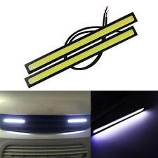 Ultrathin Waterproof Daytime Running LED Lights Fog Raining Day Driving Supply
