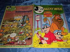 MICKY MAUS , 10. Juli 1979 , Nr. 28 , Goldsucher-Spiel  # 1 , ehapa Comics  / A