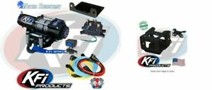 KFI 2500 LB Steel Cable Winch and Mount Kit Polaris 101840 100109