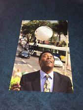 Pele Photo Dedicace Autograph Football France Champions