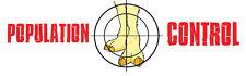 Camel Toe Population Control Bumper Sticker