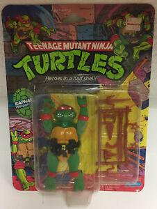1988 TMNT Teenage Mutant Ninja Turtles Raphael 🔥 📈 RARE NICE