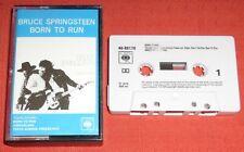 BRUCE SPRINGSTEEN - UK CASSETTE TAPE - BORN TO RUN